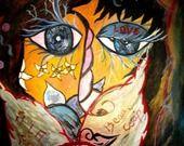 """Affiche signée """"Je t'aime"""" ... : Autres papeterie par dinah-hascoet"""
