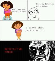 C'mon Dora!