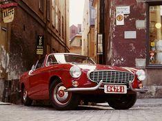 Elegant and classic vintage cars