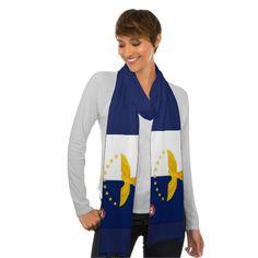 """Azores flag"" scarf"
