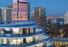 Condos For Rent, South Florida, Marina Bay Sands, Balcony, Miami, Exterior, Urban, Building, Travel