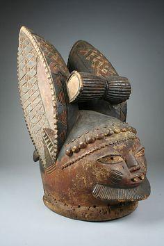 Tocado (Egungun) | pueblos yoruba | el Met