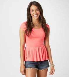 American Eagle Outfitters...that peplum top >
