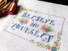 Free cross stitch pattern from Kreinik