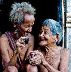 Les vieux amoureux...