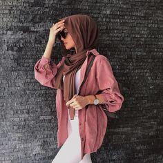 Modest Fashion Hijab, Modest Summer Fashion, Modern Hijab Fashion, Casual Hijab Outfit, Hijab Chic, Casual Fall Outfits, Muslim Fashion, Modest Outfits, Fashion Outfits