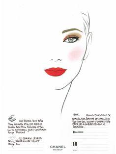 Le look makeup du jour ? Rouge incandescent