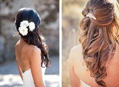 peinado de novia semirecogido 2015 - Buscar con Google