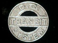DC Transit Fare Token.