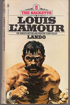 LANDO-5-THE-SACKETTS-LOUIS-LAMOUR-156-PAGES-1981-PAPERBACK