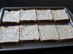 Garlic Texas Toast -  With directions on how to pre-make it and freeze it for future meals