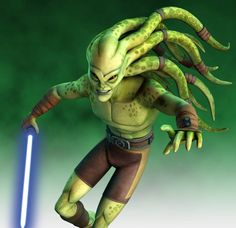 Kit Fisto was a renowned male Nautolan Jedi Master in the waning years of the… Star Wars Clone Wars, Star Wars Art, Star Wars Species, Jedi Costume, Star Wars Drawings, Galactic Republic, Jedi Knight, The Empire Strikes Back, Star Wars Characters