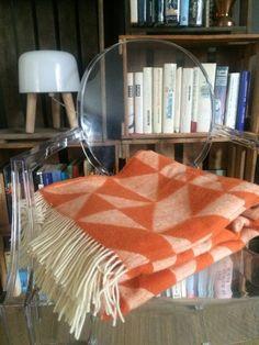 #Decke #TwistaTwill #Kupfer von #Ratzer über www.stilherz.de