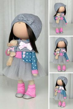 Interior Doll Nursery Doll Textile Doll Rag Doll Pink Doll Art Tilda Doll Handmade Doll Fabric Doll Portrait Doll by photo Gift by Yulia K __________________________________________________________________________________________ Hello, dear visitors! This is handmade textile