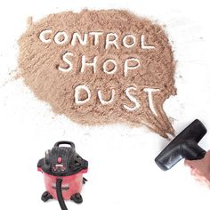 DIY central dust collection system. How to use a shop vacuum coupled with a few accessories to capture dust