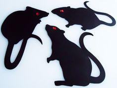 9 besten rats Bilder auf Pinterest   Silhouetten, Ratten und Schablonen