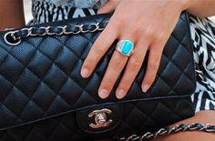 black #chanel classic flap bag