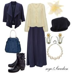 """nyo!Sweden"" by winterlake25 on Polyvore"