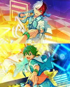 Ensemble St☆rs x Boku no Hero Academia / TodoDeku / #mha
