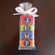 50% OFF SALE - JUMP Mini Candy Wrappers Printable - Instant Download - Jump BoldCollection