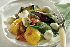 Σαλάτα ψητών λαχανικών με μοτσαρέλα & σάλτσα βασιλικού-featured_image