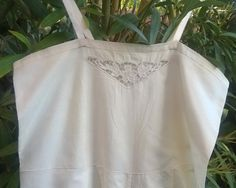 Art Deco French Body Suit 1930's Handmade Off by SophieLadyDeParis
