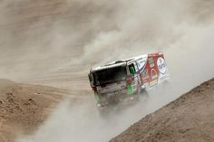 VIDEO: Dakar 2013, stage 6: Arica - Calama. Eurol VeKa MAN rally team