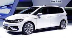 New VW Touran Looking Good In R Line Outfit