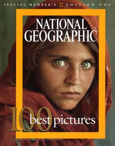 Steve McCurry's Afghan Girl On the cover of a National Geographic publication. Steve Mccurry, Famous Pictures, Cool Pictures, National Geographic Cover, Pakistan, Mona Lisa, Afghan Girl, Most Beautiful Images, Beautiful Things
