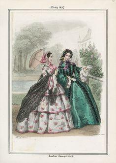 Ladies' Companion May 1857 LAPL