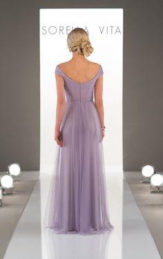 8920 Romantic Soft Bridesmaid Dress by Sorella Vita