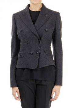 "Dolce & Gabbana double breast wool blended blazer. [""Art. F25OUT FUCB5 S8291""]"