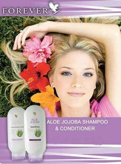 Aloe Jojoba Shampoo & Conditioner. Lice hate Aloe!! To order: www.mairemtd.flp.com  #family #nits #aloe