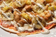 Viktväktarrecept Lchf, Vegetable Pizza, Food And Drink, Health Fitness, Diet, Chicken, Vegetables, Junk Food, Japanese Food