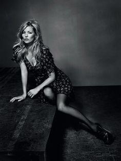 Kate Moss, Top Shop Winter 2010