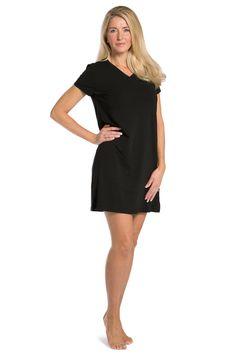 9f84eff30c Tranquil Dreams Nightshirt   Sleep Shirt   Nightgown Ecofabric – Fishers  Finery Sleep Shirt