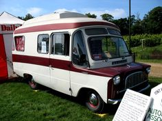 Bedford camping car