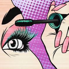 Makeup pop art
