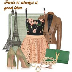 PARIS IS ALWAYS A GOOD IDEA by georgina2907 on Polyvore