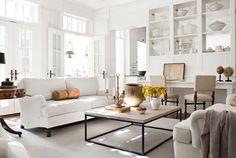 decorology: A white, bright, sophisticated country home