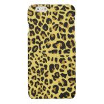 Leopard skin leather glossy iPhone 6 case