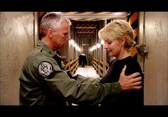 #Stargate Sam Carter and Jack O'Neill - #SamJack