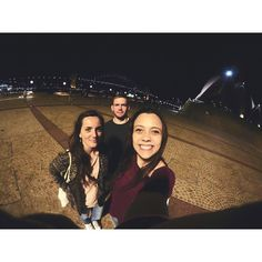 3 guys who never met before just chillin' in Sydney.  #Sydney #awesome #night #happy #ywam #team #smile #selfie #perfect #pictureoftheday by luisa.oderso http://bit.ly/dtskyiv #ywamkyiv #ywam #mission #missiontrip #outreach