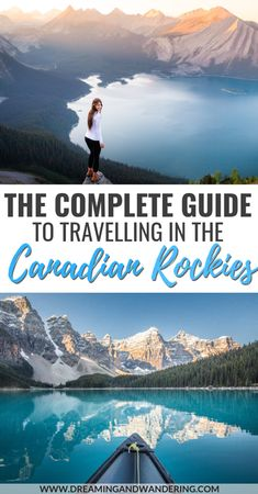 Guide to travelling in the canadian rockies backpacking camping budget hiking photography New Travel, Travel Alone, Canada Travel, Travel Usa, Canada Trip, Online Travel, Beach Travel, Travel Goals, Best Family Camping Tents