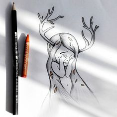 Little deer-girl