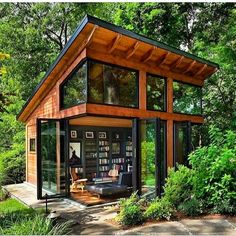 33 Gorgeous Tiny House Interior Design And Decor Ideas - New ideas Tiny House Cabin, Tiny House Plans, Tiny House Design, Tiny House Kits, Wood House Design, Cozy House, Harrison Design, Casas Containers, Design Exterior