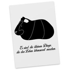 Postkarte Meerschweinchen aus Karton 300 Gramm  weiß - Das Original von Mr. & Mrs. Panda.  Diese wunderschöne Postkarte aus edlem und hochwertigem 300 Gramm Papier wurde matt glänzend bedruckt und wirkt dadurch sehr edel. Natürlich ist sie auch als Geschenkkarte oder Einladungskarte problemlos zu verwenden.    Über unser Motiv Meerschweinchen  Das Meerscheinchen gehört zu den beliebtesten Haustieren. Viele Kinder halten die süßen Nagetiere, aufgrund ihres lieben Wesens. Außerdem sind…