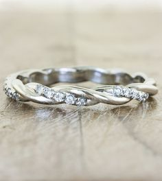 Wedding bands by Ken & Dana Design