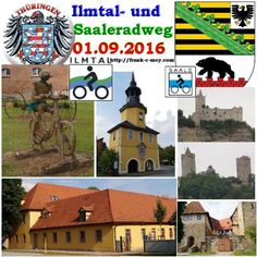 Ilmtalradweg 01.09.2016 Von Kaatschen bis nach Weimar Radtour – Reportage Radwege in Thüringen und Sachsen-Anhalt Drei Radwege in zwei Tagen – Tag 2