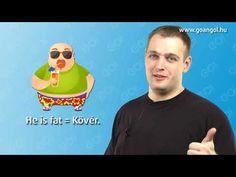 GO! Angol - 2. rész - kezdő szint- Létigék (ingyenes ajándékfejezet: 2 / 1300) - YouTube Learn English, English Language, Learning, Videos, Youtube, Learning English, English People, Studying, English